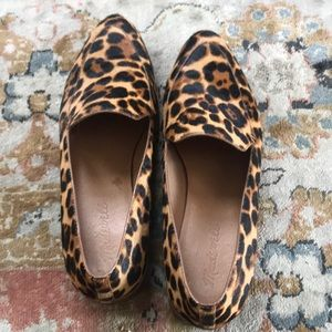 Madewell leopard print loafers! Worn just twice